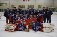 Peewees conclude outstanding season by capturing the OHF Provincial Championship